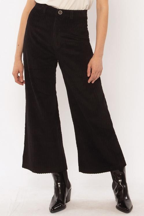 Pantalon pana black Amuse