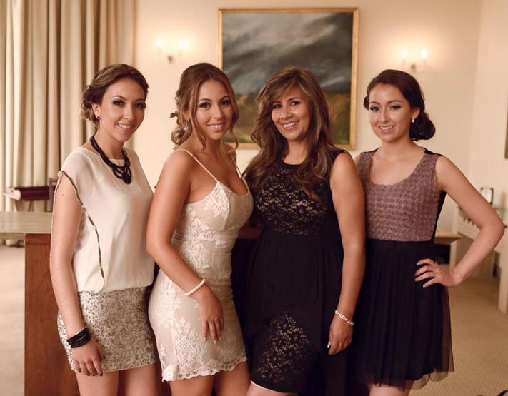 Dani Irahola y familia - Maquillaje
