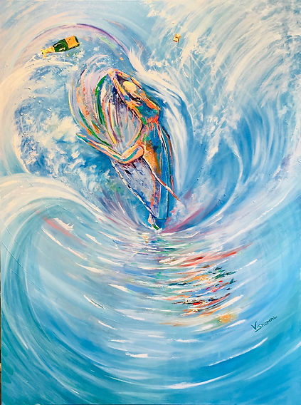 dancers, waves