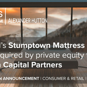 Portland's Stumptown Mattress has been acquired by private equity firm Traction Capital Partners