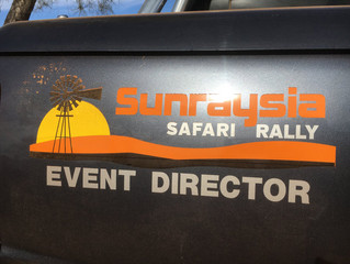 Sunraysia Safari Rally Update: May 2017