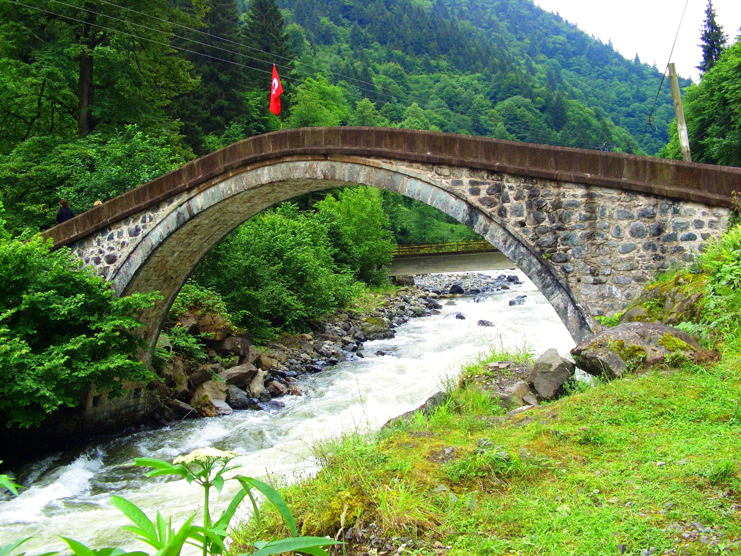 ArchBridgeOverFirtinaDeresi@Rize-Turkey-