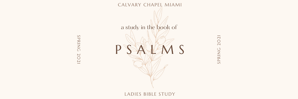 ladies bible study graphic with olive branch