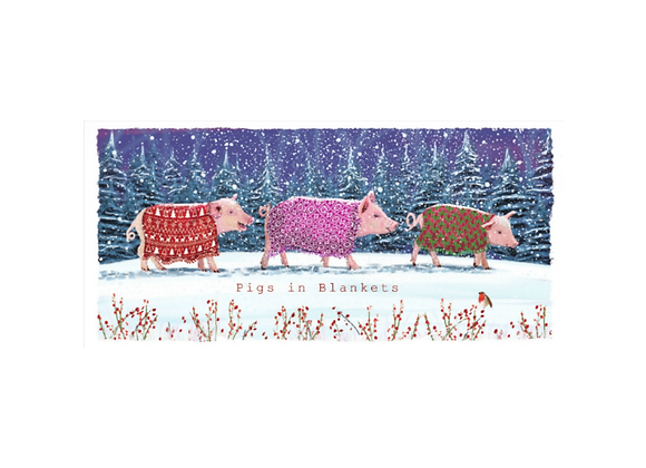Pigs in blankets - Pack of 10 cards