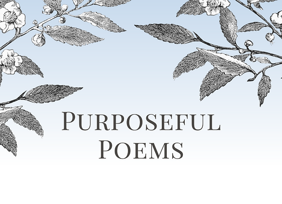 Purposeful Poems by Marion Ord