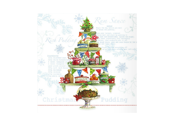 Christmas baking - Pack of 10 cards