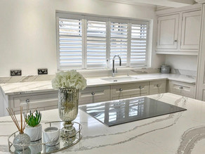 Choosing window shutters for your kitchen or bathroom
