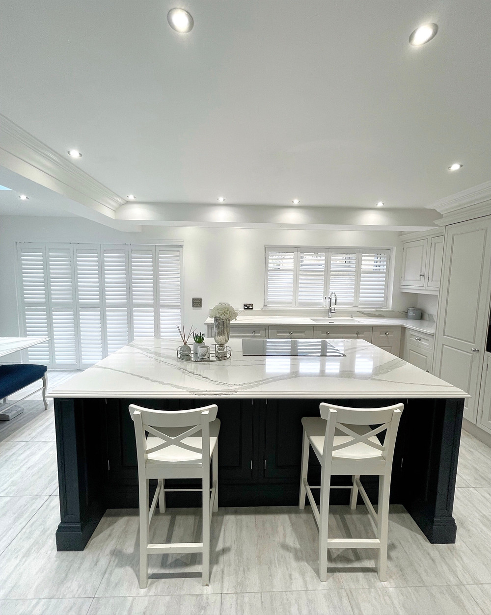 Tracked shutters Epping