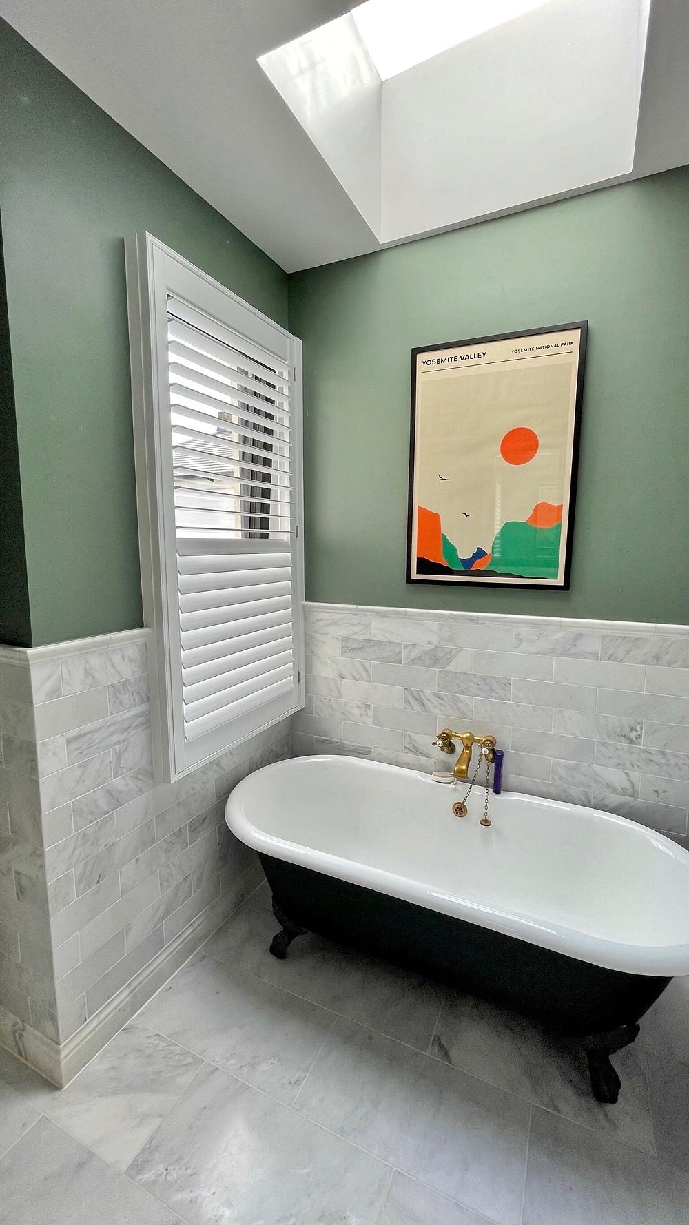 Bathroom shutters Chiswick
