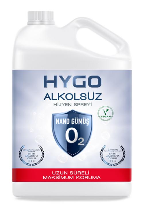 HYGO Nano Gümüş Alkolsüz Hijyen Spreyi 5L