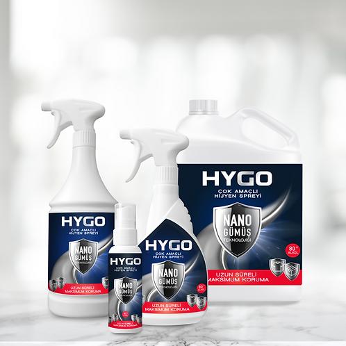 HYGO Nano Gümüş Hijyen Süper 4'lü Paket