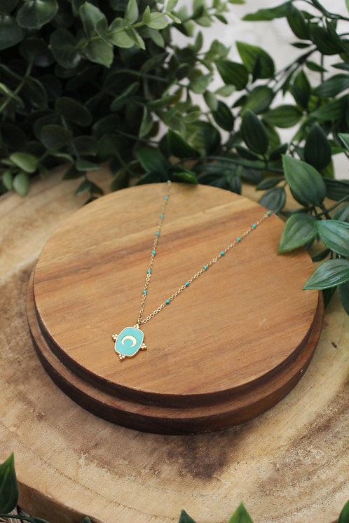 COLLIER NINE TURQUOISE