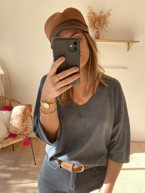 PULL OPALE GRIS