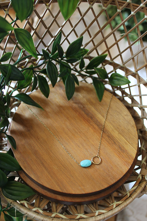 COLLIER ACACE TURQUOISE