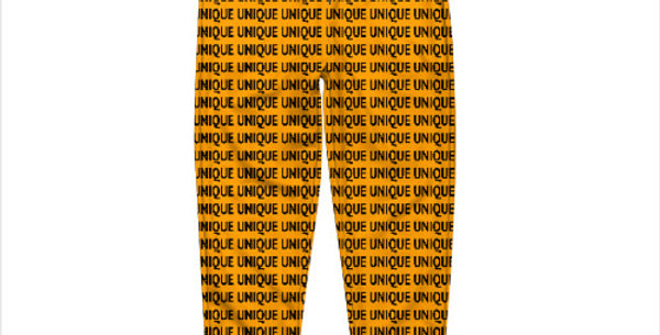 "Штаны ""Unique"" оранжевые"