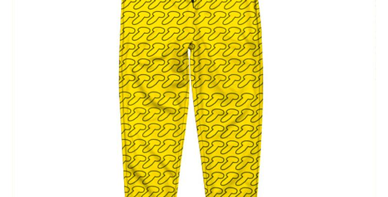 """Штаны """"Дик"""" желтые"""