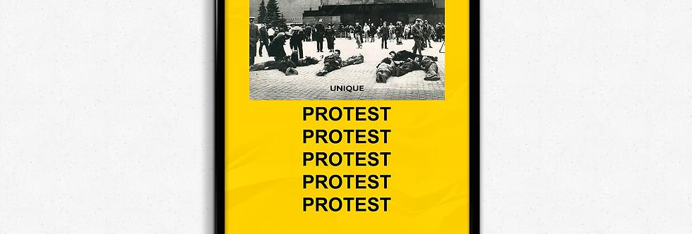 """Постер """"Протест"""""""