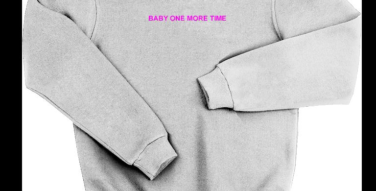 "Свитшот ""Baby One More Time"""