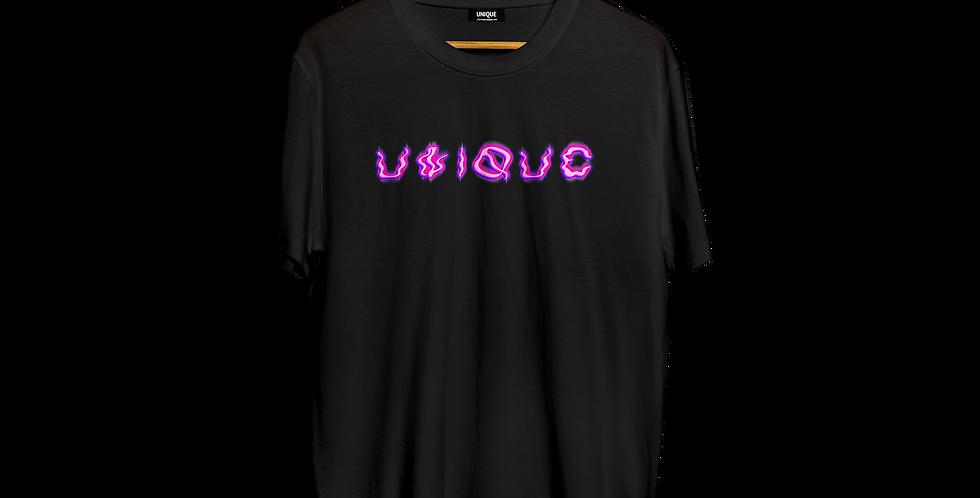 """Футболка """"UNIQUE"""" futuristic logo"""