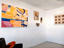 Front gallery in our 8-studio collective