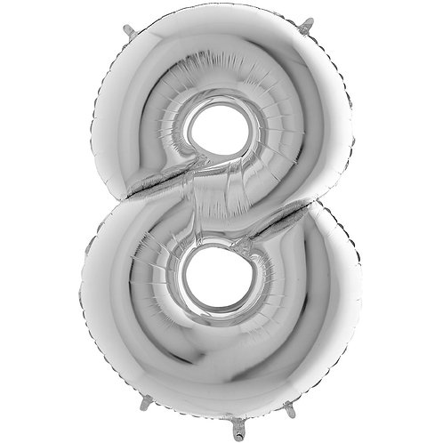 Ballon Alu Argent (PM)8