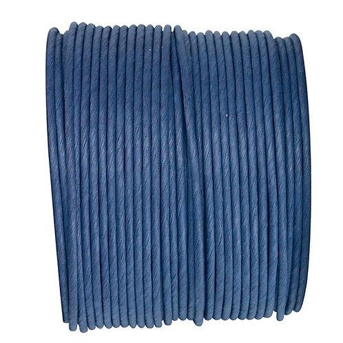 Bobine de fil Laitonné - 20m - Bleu