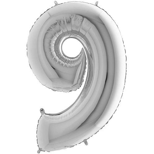 Ballon Alu Argent (PM)9