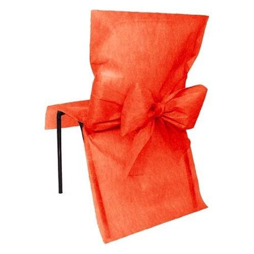 Housses de Chaises x10 - Rouge