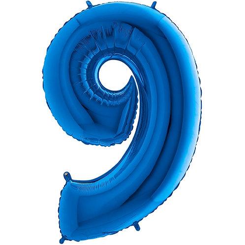 Ballon Alu Bleu (PM)9