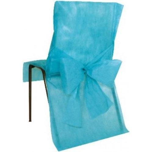 Housses de Chaises x10 - Turquoise