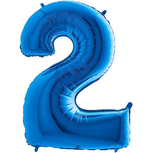 Ballon Alu Bleu (PM)2