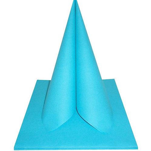 Serviettes Intissées x50 - Turquoise