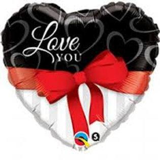 """Ballon alu """"Love You"""""""