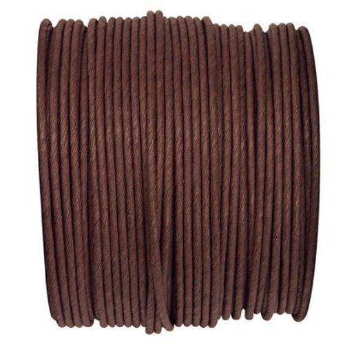 Bobine de fil Laitonné - 20m - Chocolat