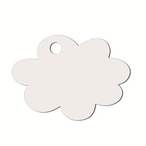 Etiquettes Nuage x50 - Blanc