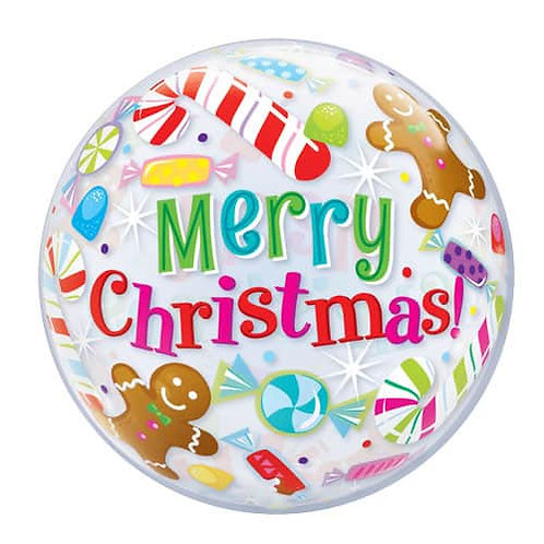 Ballon Bubble Merry Christmas