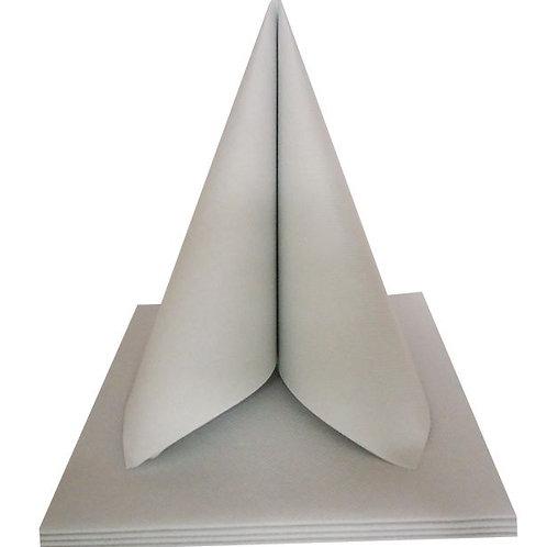 Serviettes Intissées x50 - Gris Clair