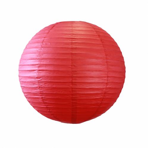 Boule Chinoise - Rouge - D60 cm