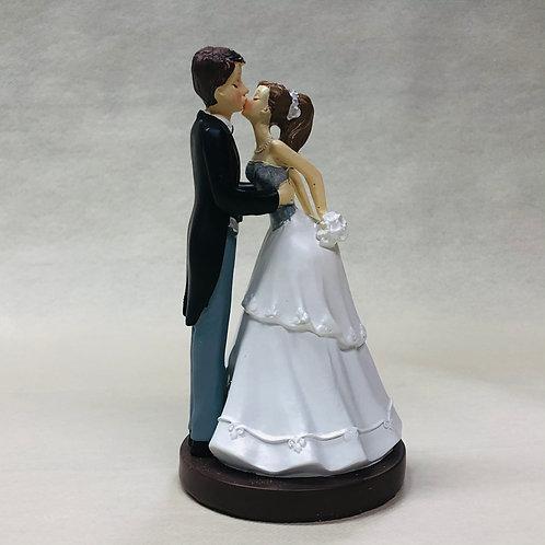 """Couple de Mariés """"Bisous"""""""