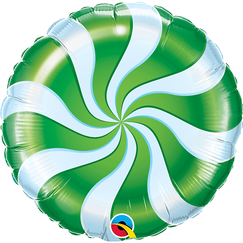 Ballon alu Bonbon Vert
