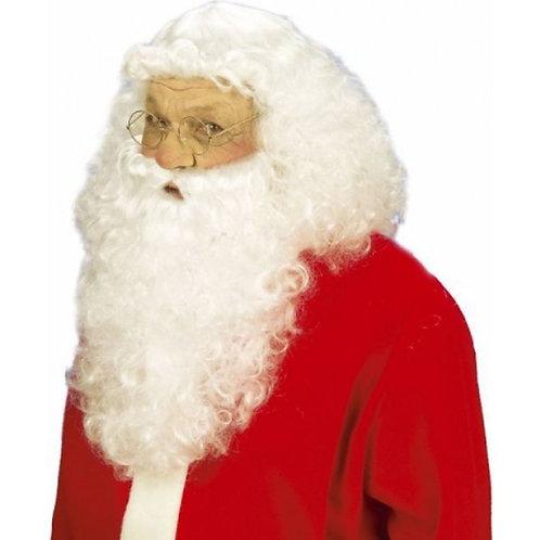 Barbe de Père Noël et perruque