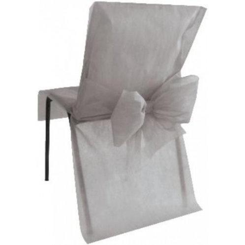Housses de Chaises x10 - Gris