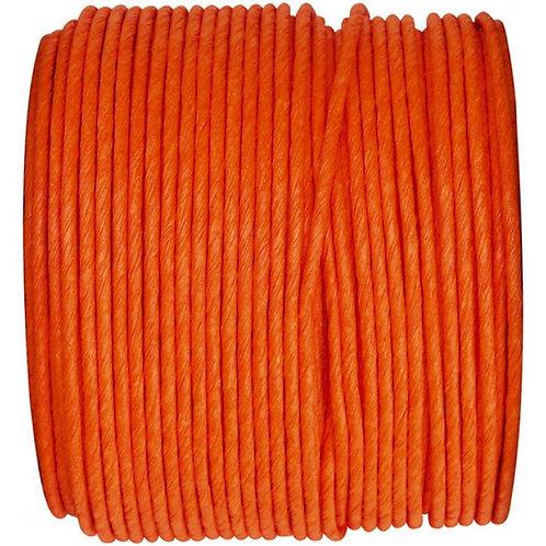 Bobine de fil Laitonné - 20m - Orange