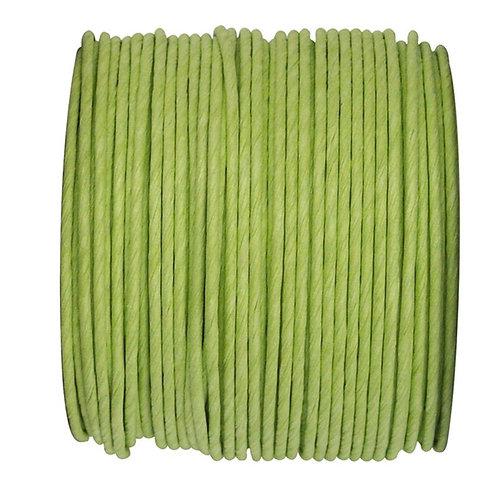 Bobine de fil Laitonné - 20m - Vert Anis