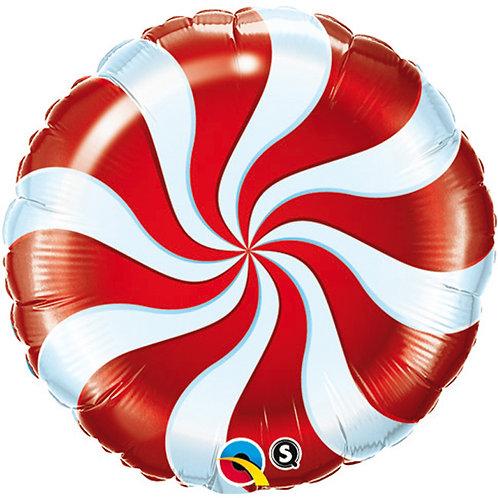 Ballon alu Bonbon Rouge
