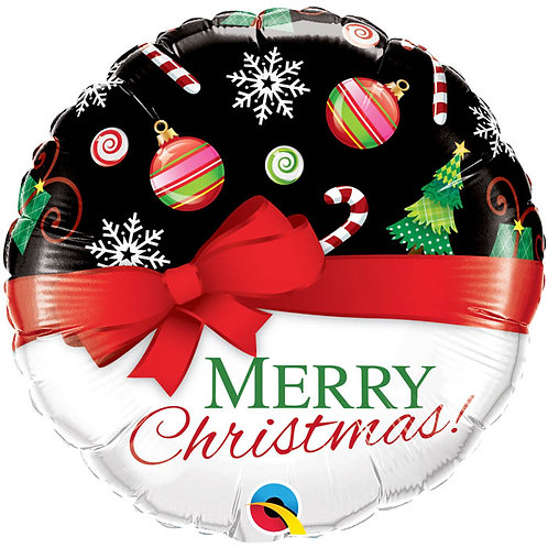 Ballon alu Merry Christmas