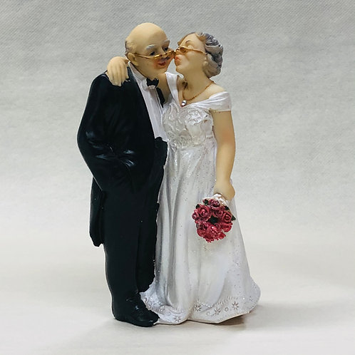 """Couple de Mariés """"Vieux"""""""