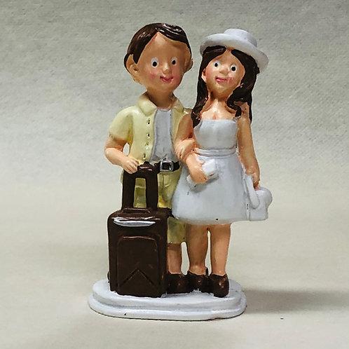 "Couple de Mariés ""Vacancier"""