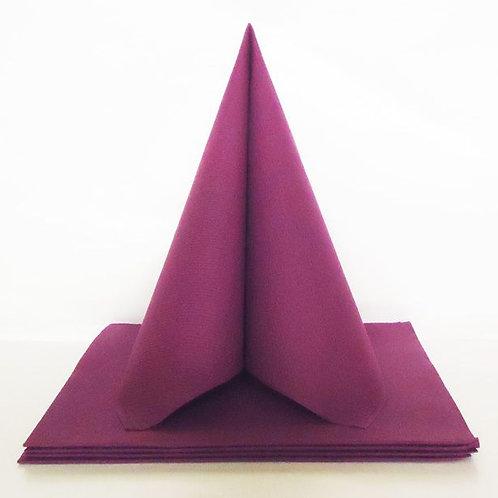 Serviettes Intissées x25 - Violet