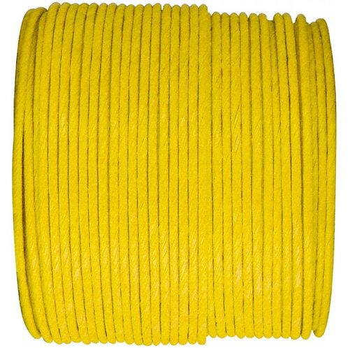 Bobine de fil Laitonné - 20m - Jaune
